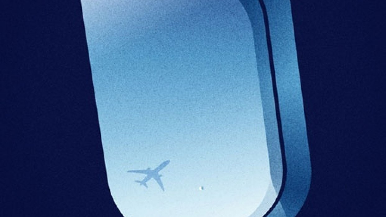 jet blue poster - student project