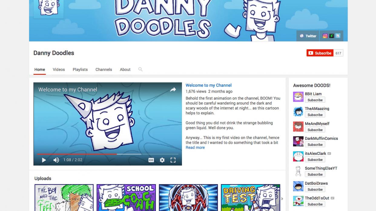 Animation/Animatics Storytelling Youtube Channel - student project