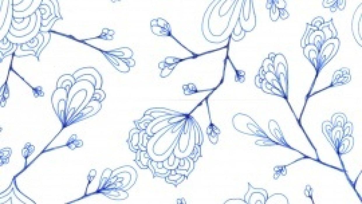 pen flowers - student project