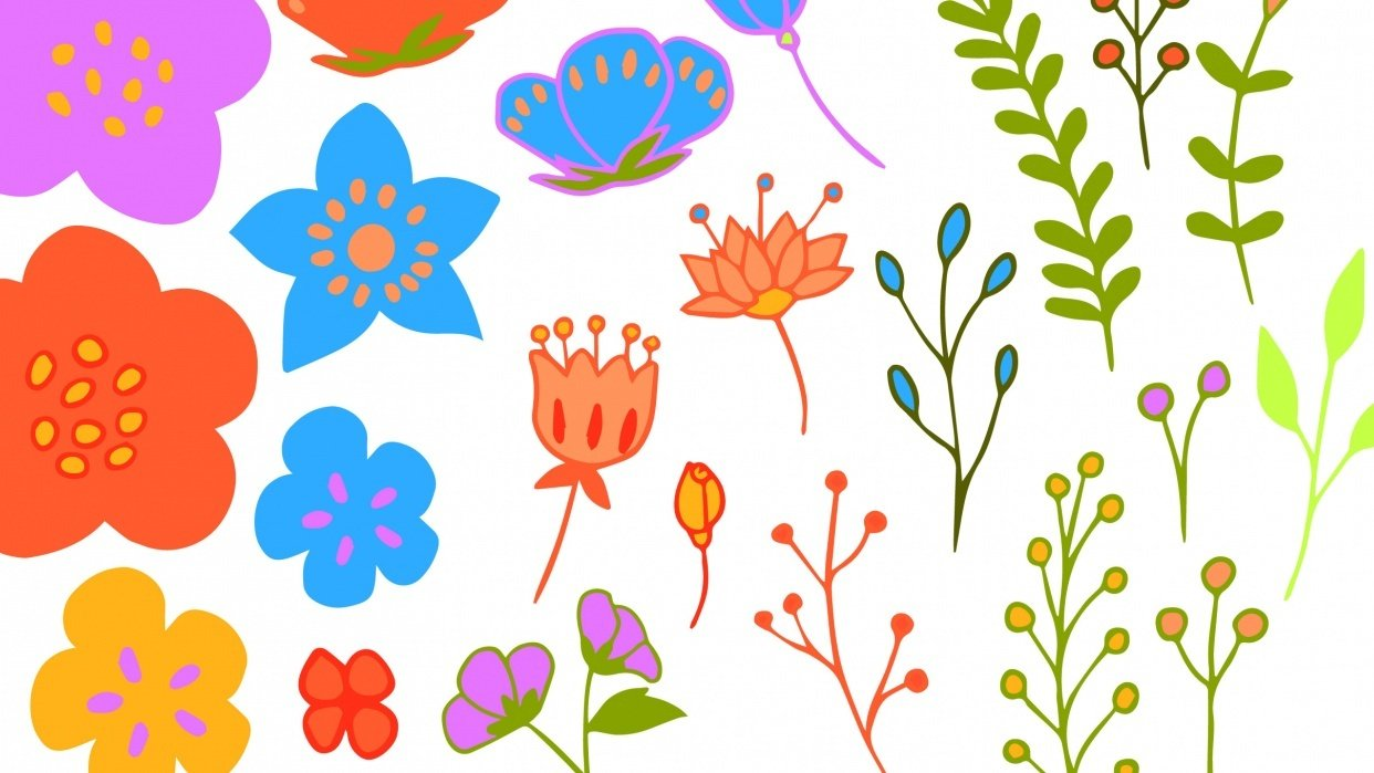 Hand-Drawn Series- Learning to Create Flower Bundles in Adobe Illustrator - student project