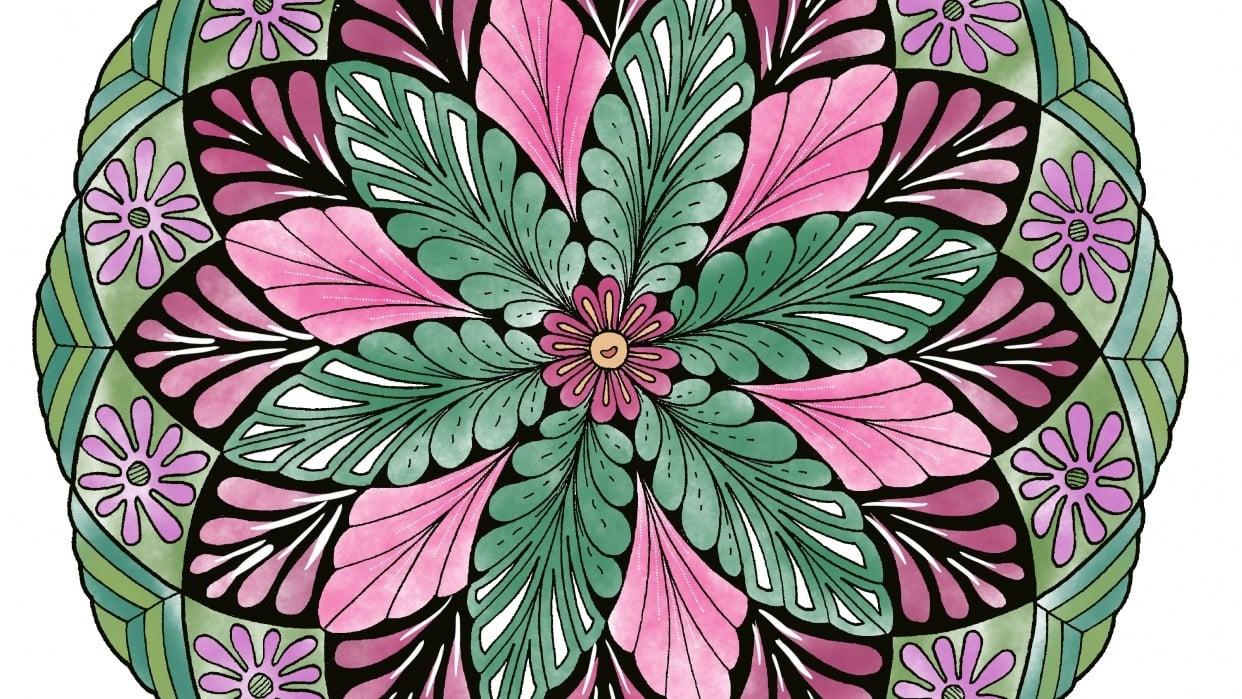 My Coloring Mandala - student project