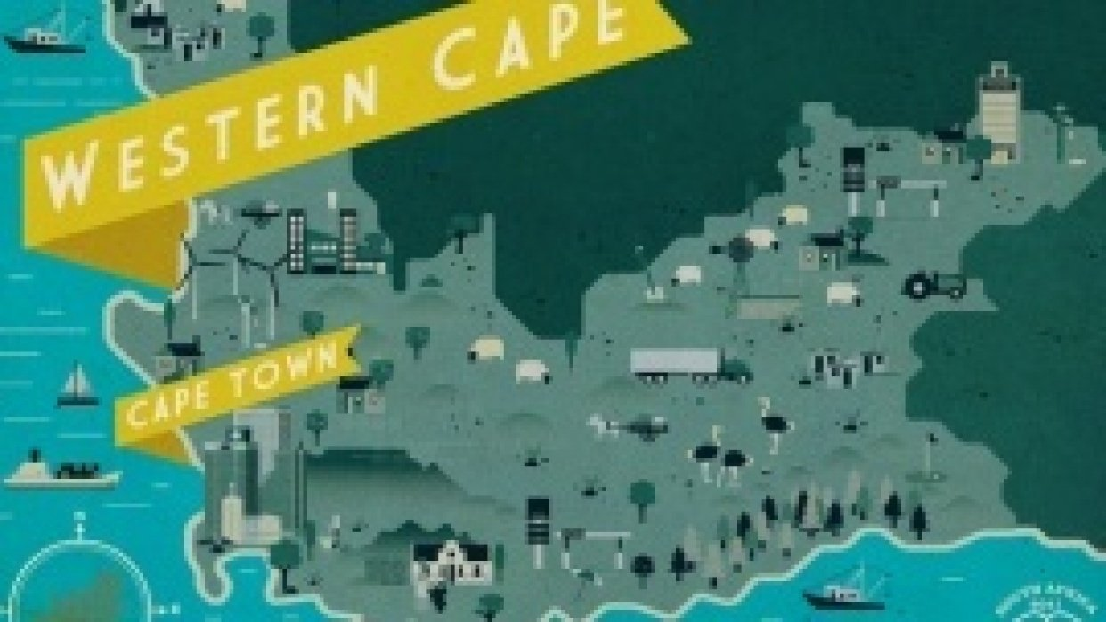 South African Maps  - student project