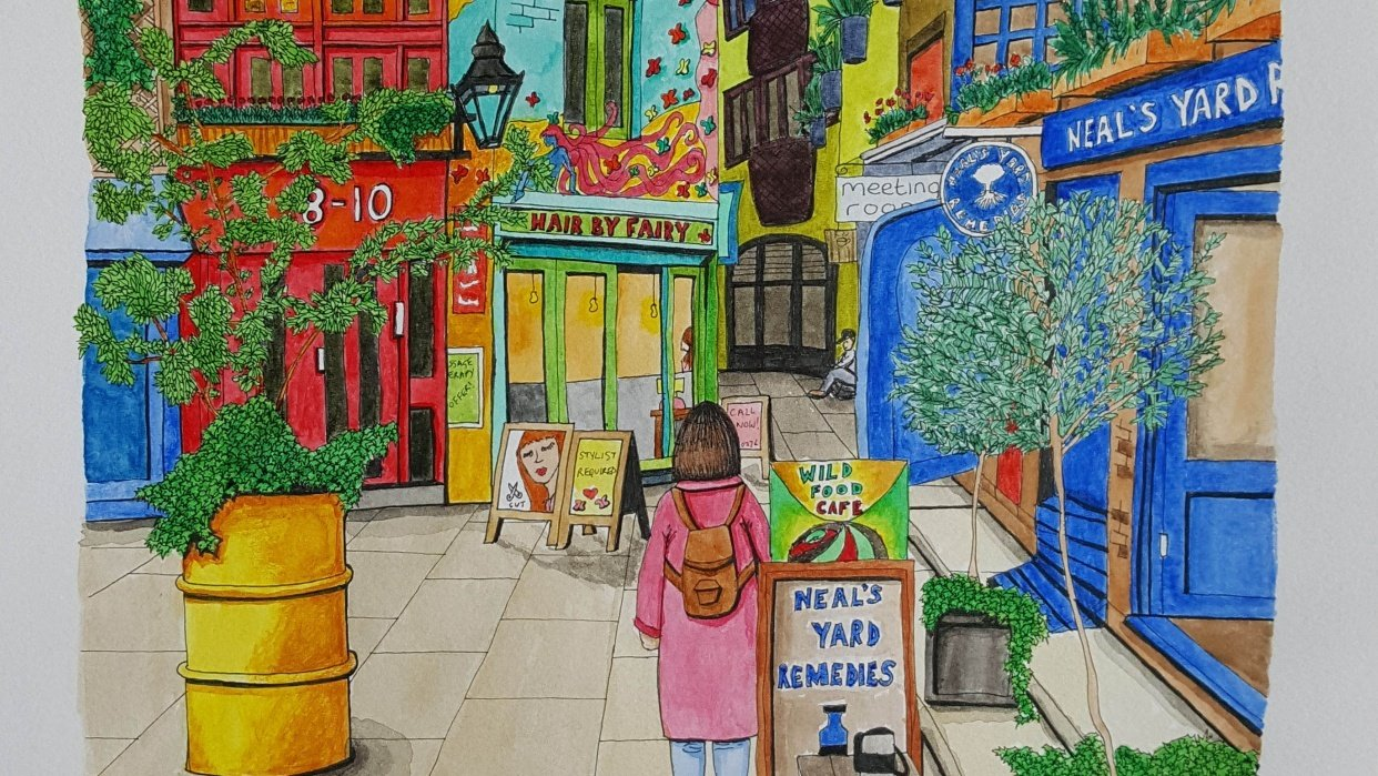 Neal's Yard, London - student project