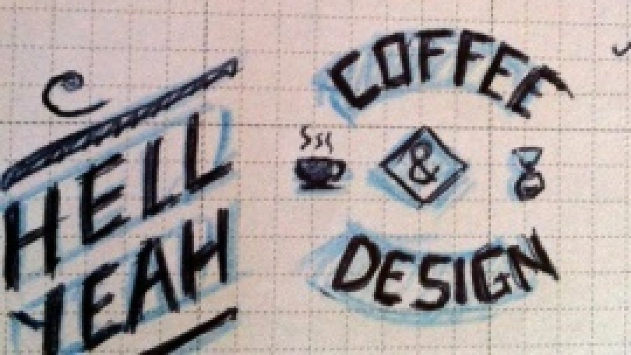 Coffee & Design - student project