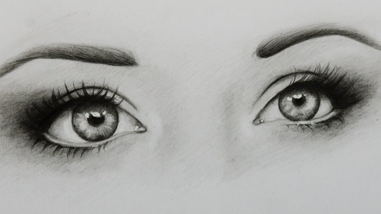 Realistic Eyes - student project