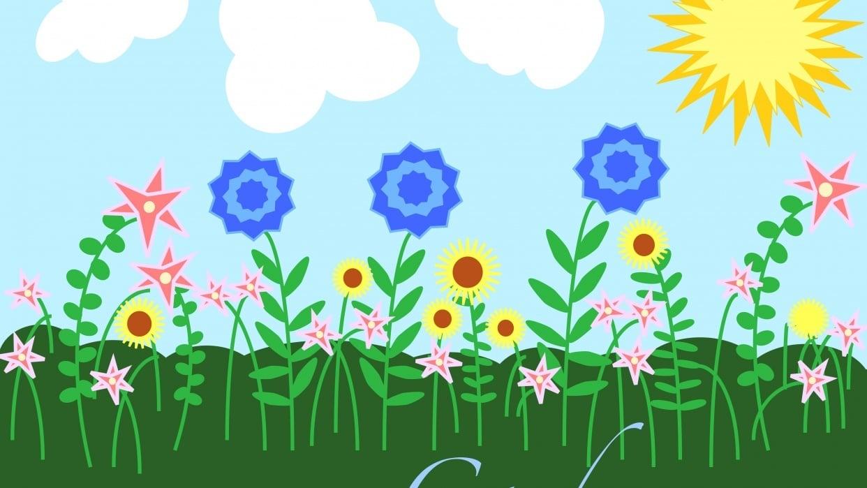 Garden - student project