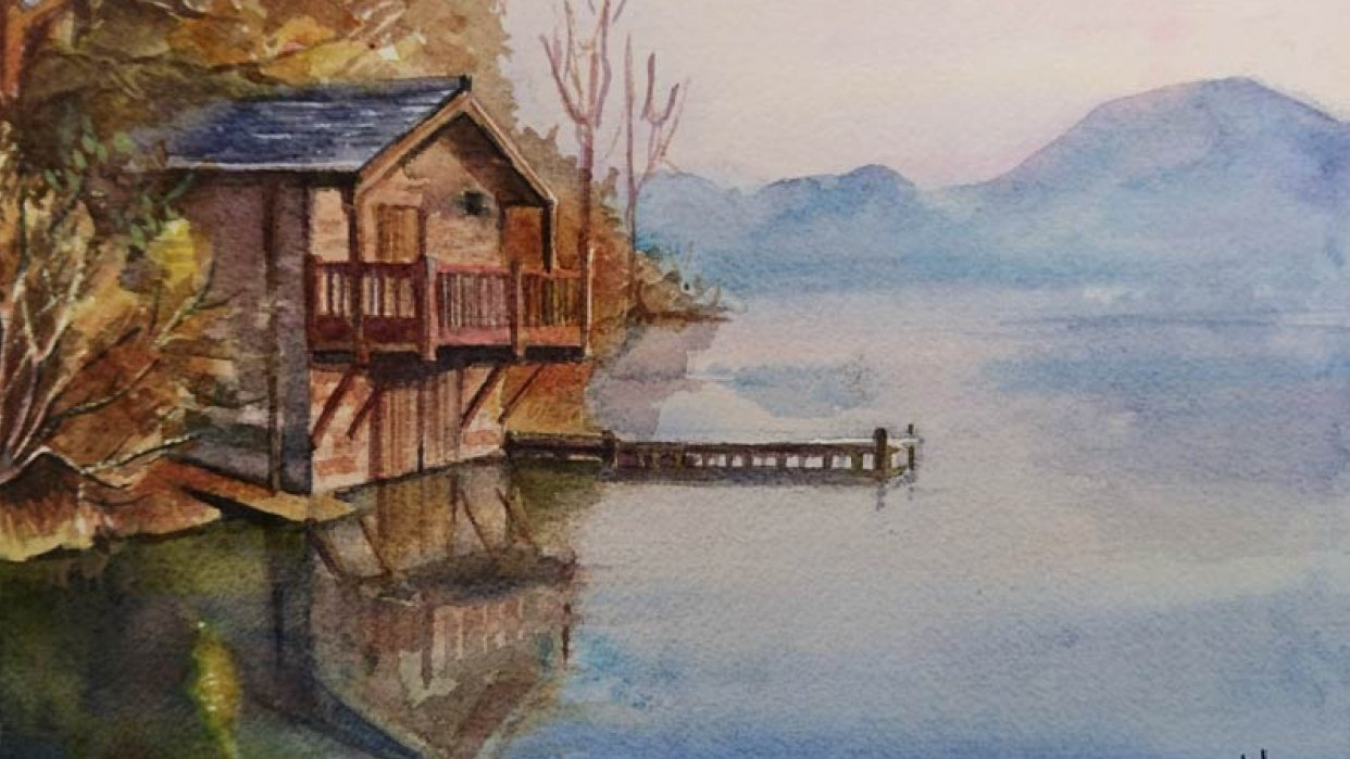 Lake house - student project