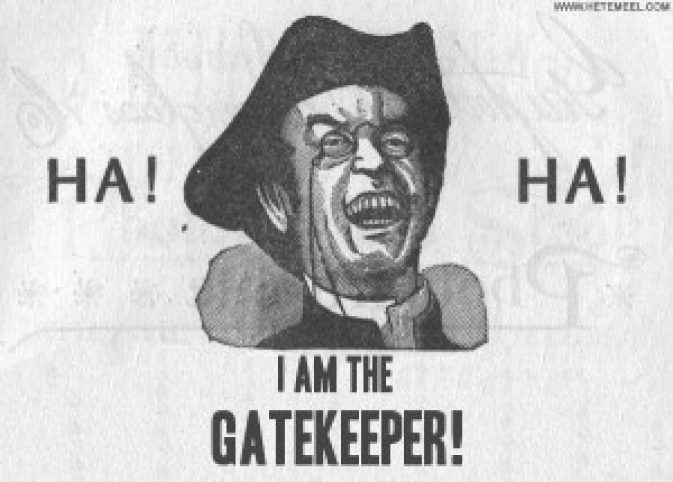 Death of the Gatekeepers - student project