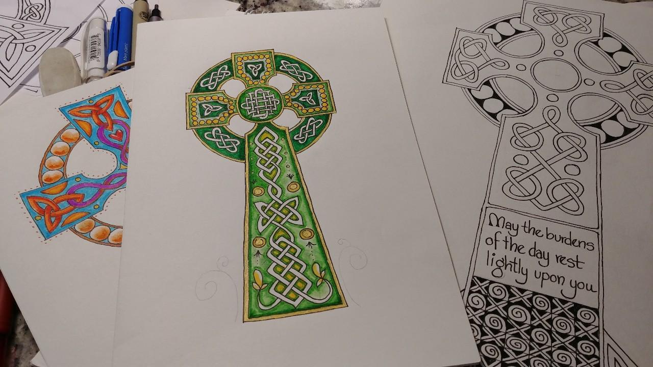 Design a Celtic Cross: Celtic Knots Made Super Simple #4