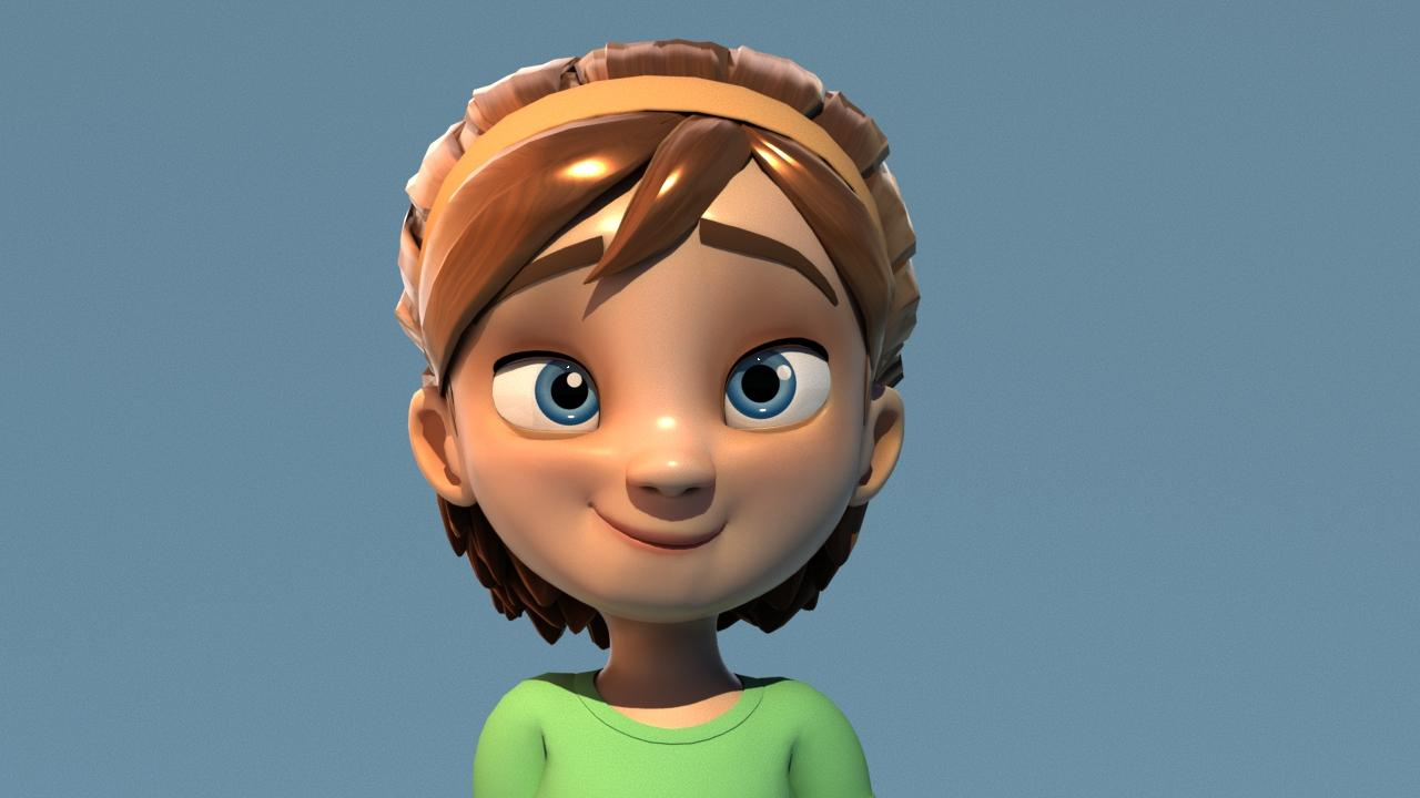 Texturing characters in Autodesk Maya with Arnold | Yone