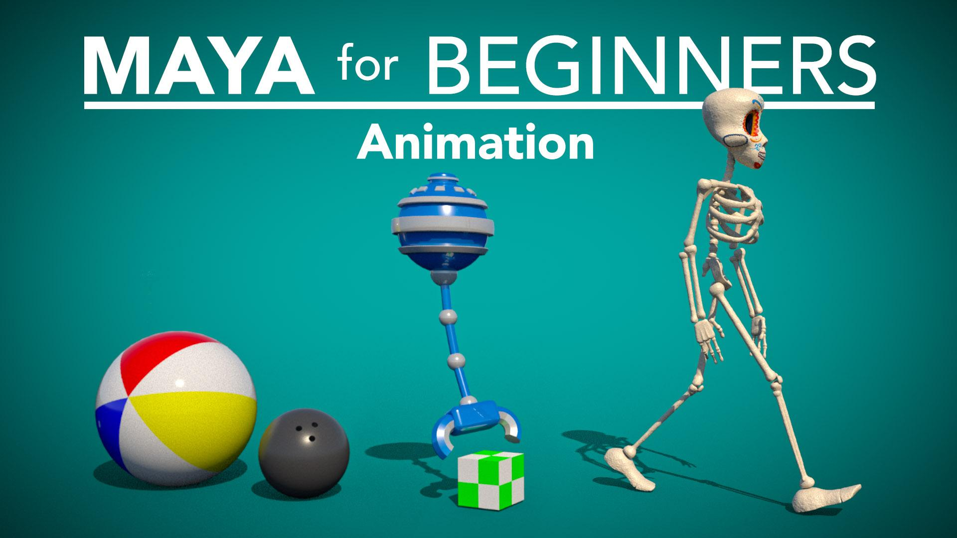 Maya for Beginners: Animation | Lucas Ridley | Skillshare