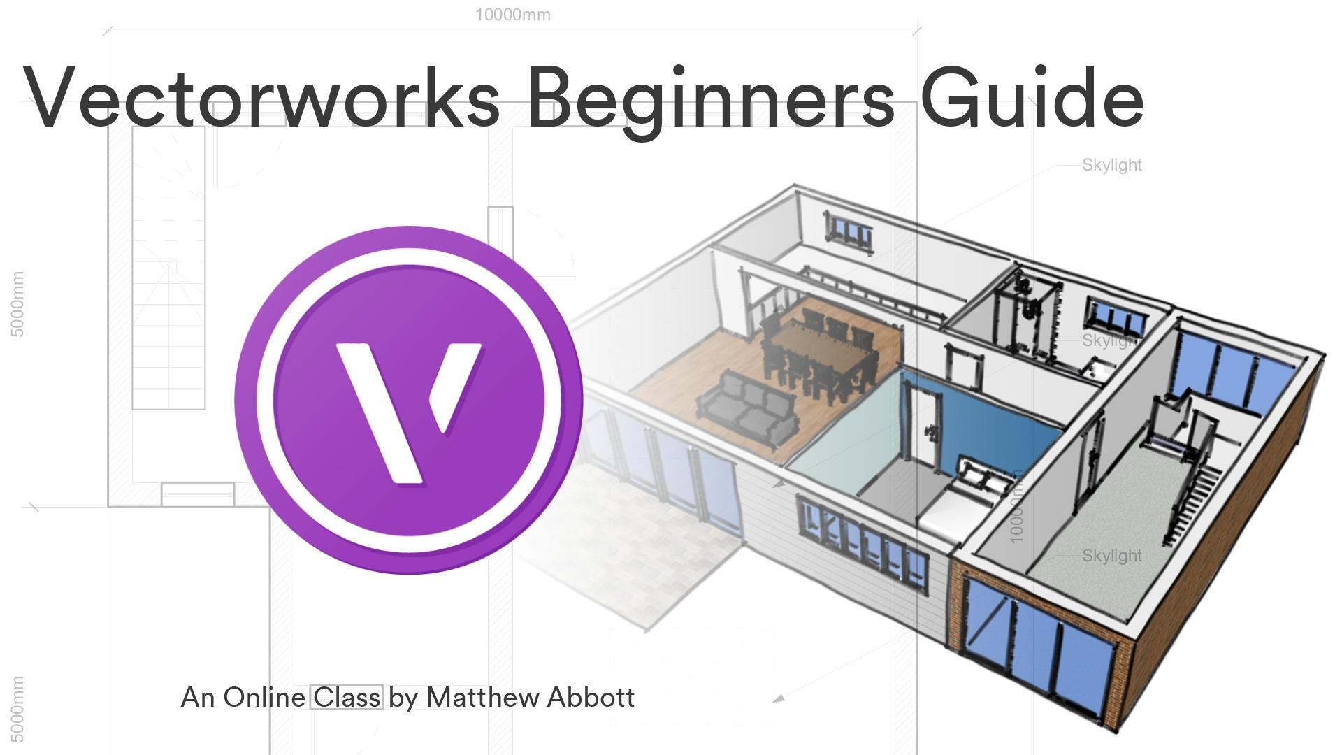 Vectorworks an Introduction to 2D Drawing for Architects | Matthew