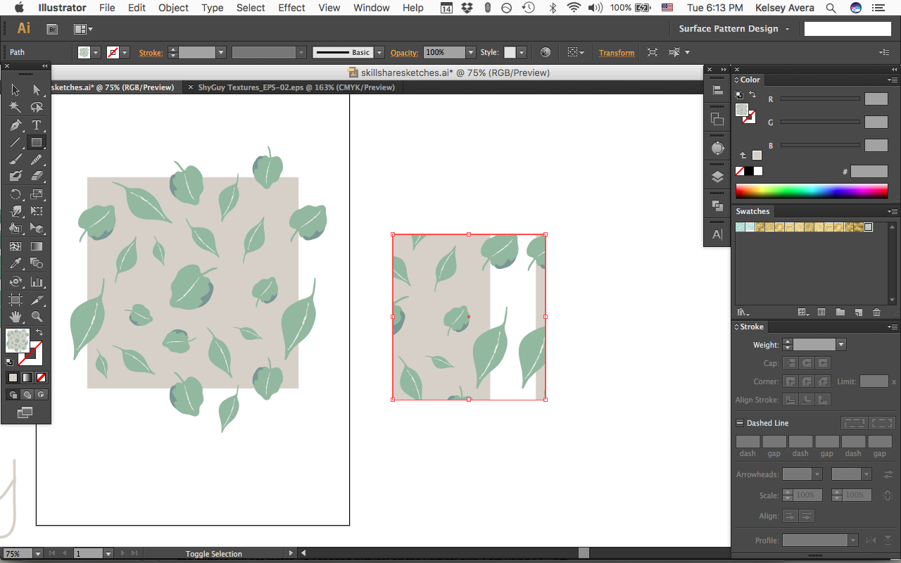 Intro to surface pattern design learn adobe illustrator create 9647a488 biocorpaavc