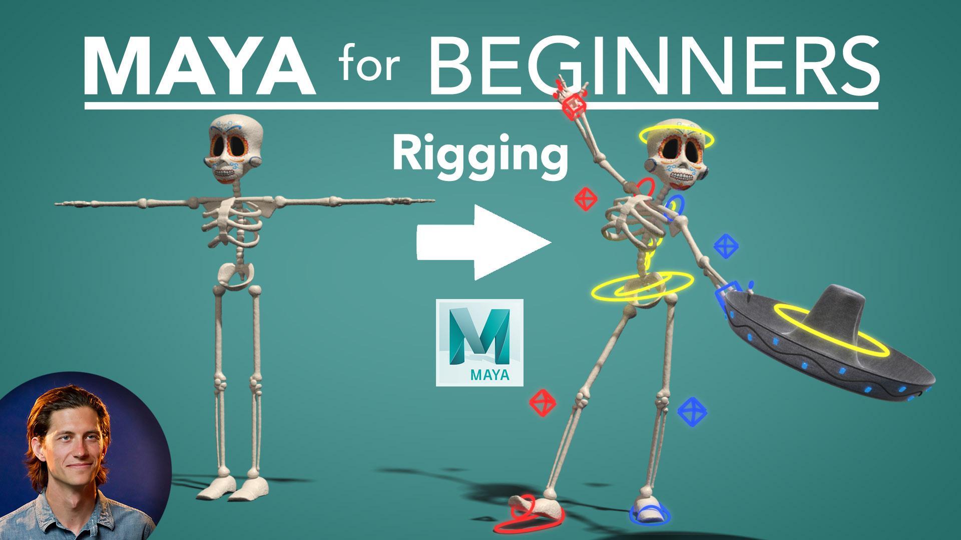 Maya for Beginners: Rigging | Lucas Ridley | Skillshare