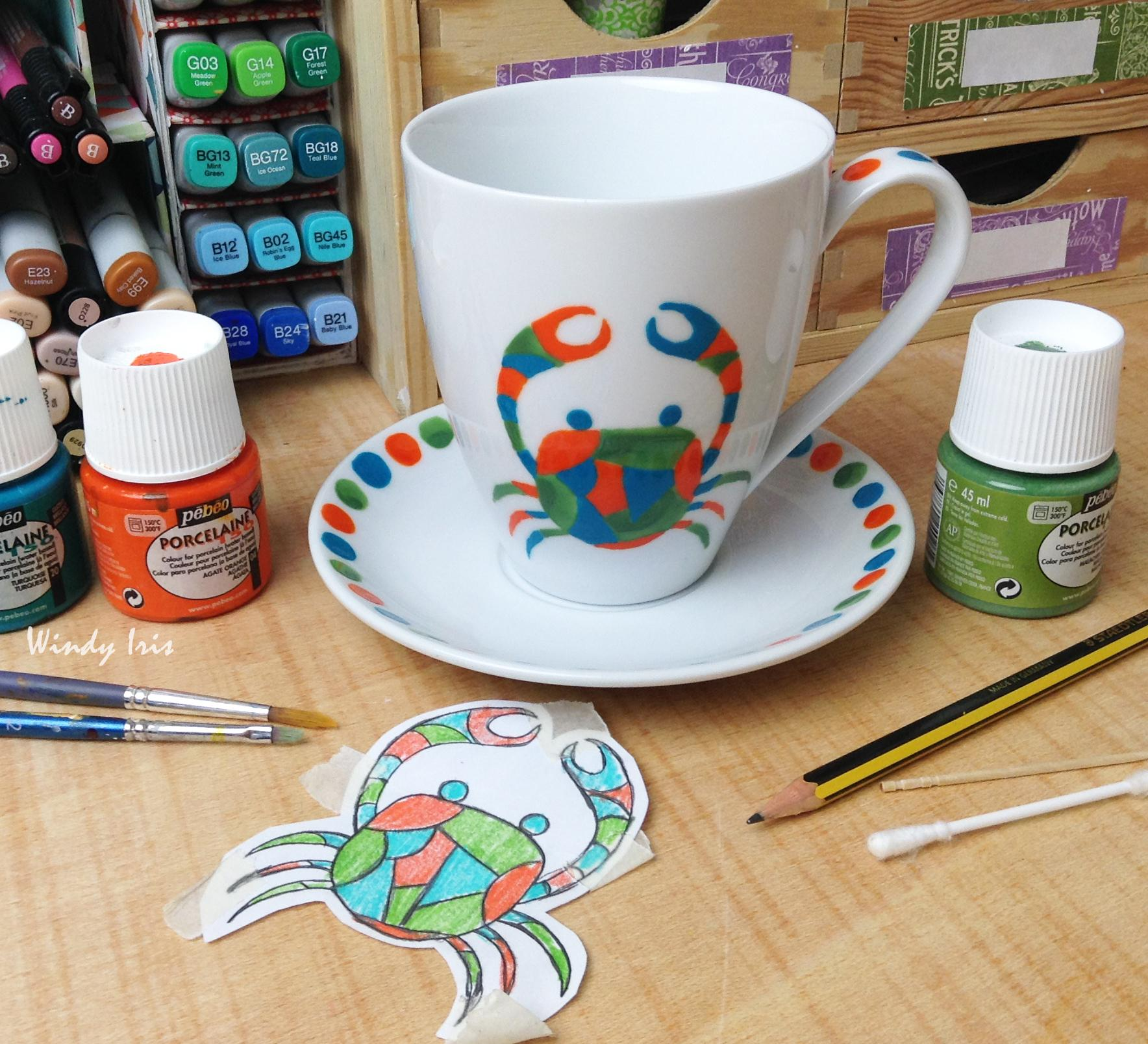 Porcelain Painting Learn How To Paint Your Own Zodiac Sign