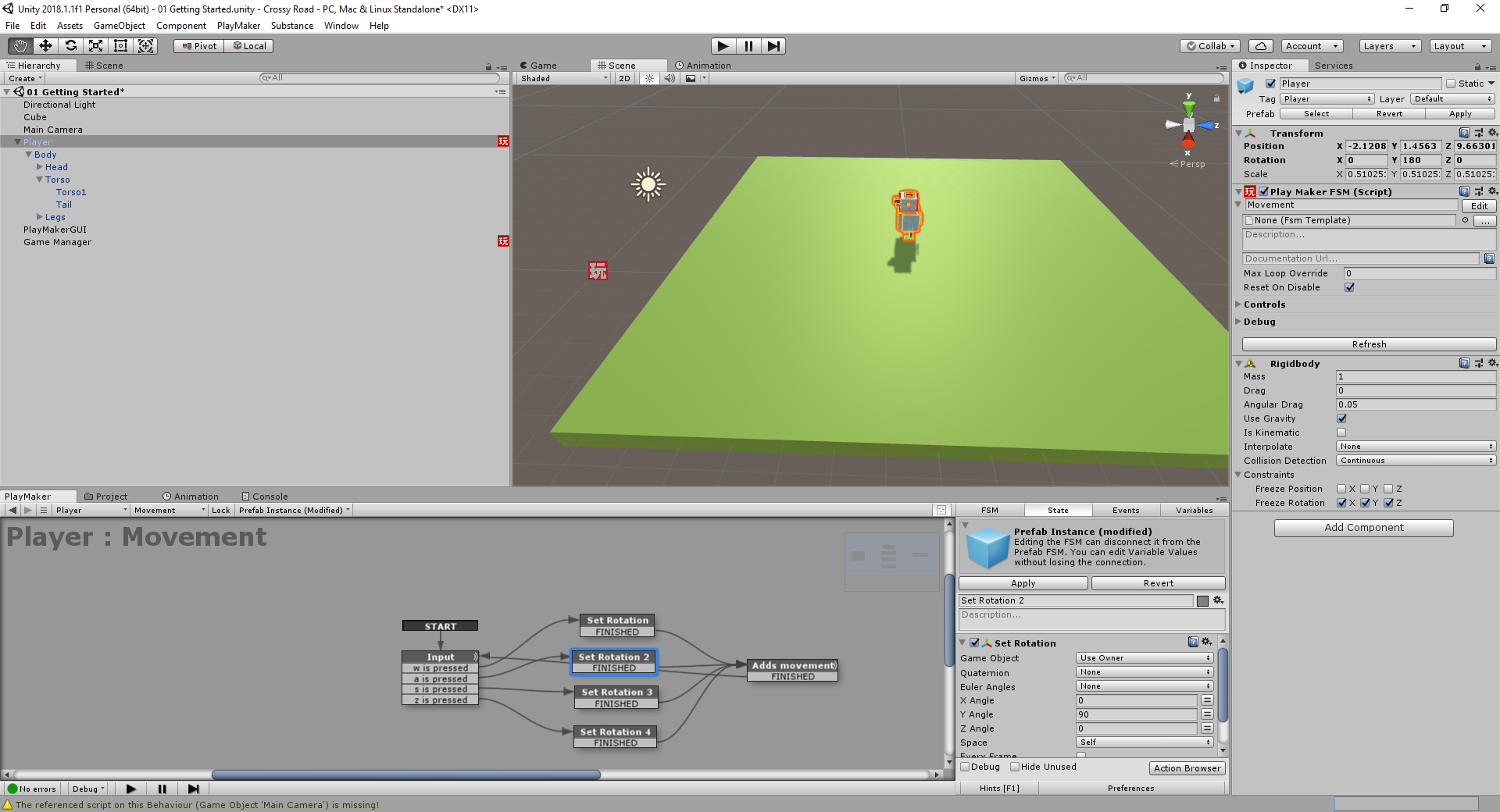 Create a game like Crossy Road using Unity & PlayMaker | Vaddadi