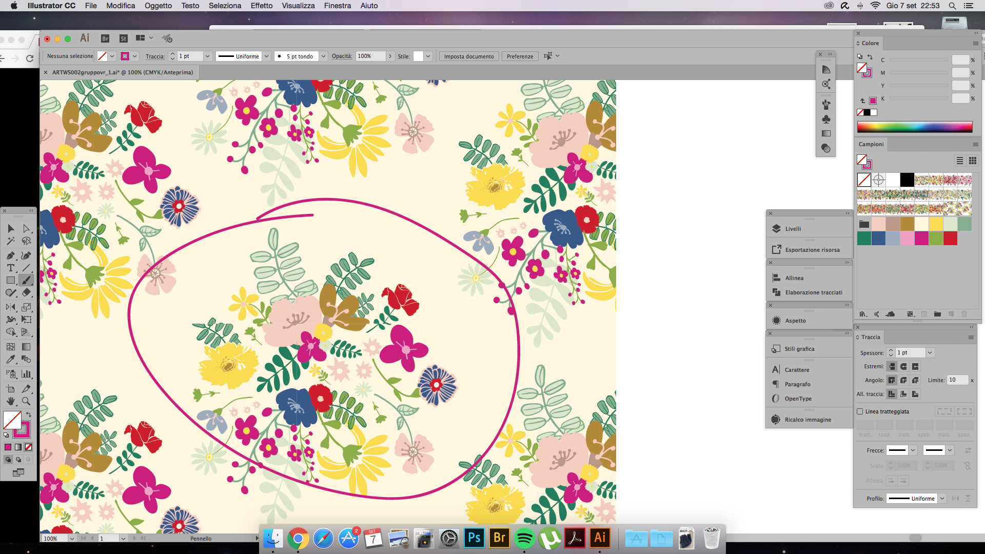 Intro to surface pattern design learn adobe illustrator create eaa2b1fe biocorpaavc
