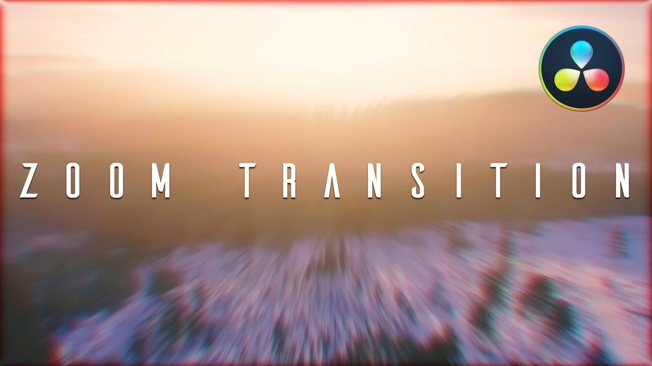 Sam Kolder Zoom Transition in Davinci Resolve 15/16   Nick
