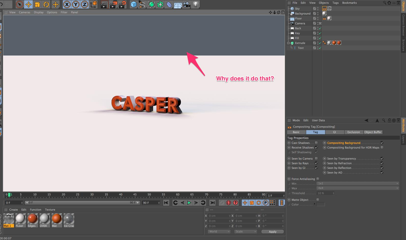 Cool 3D Text with Infinite Floor | Cinema 4D - Skillshare