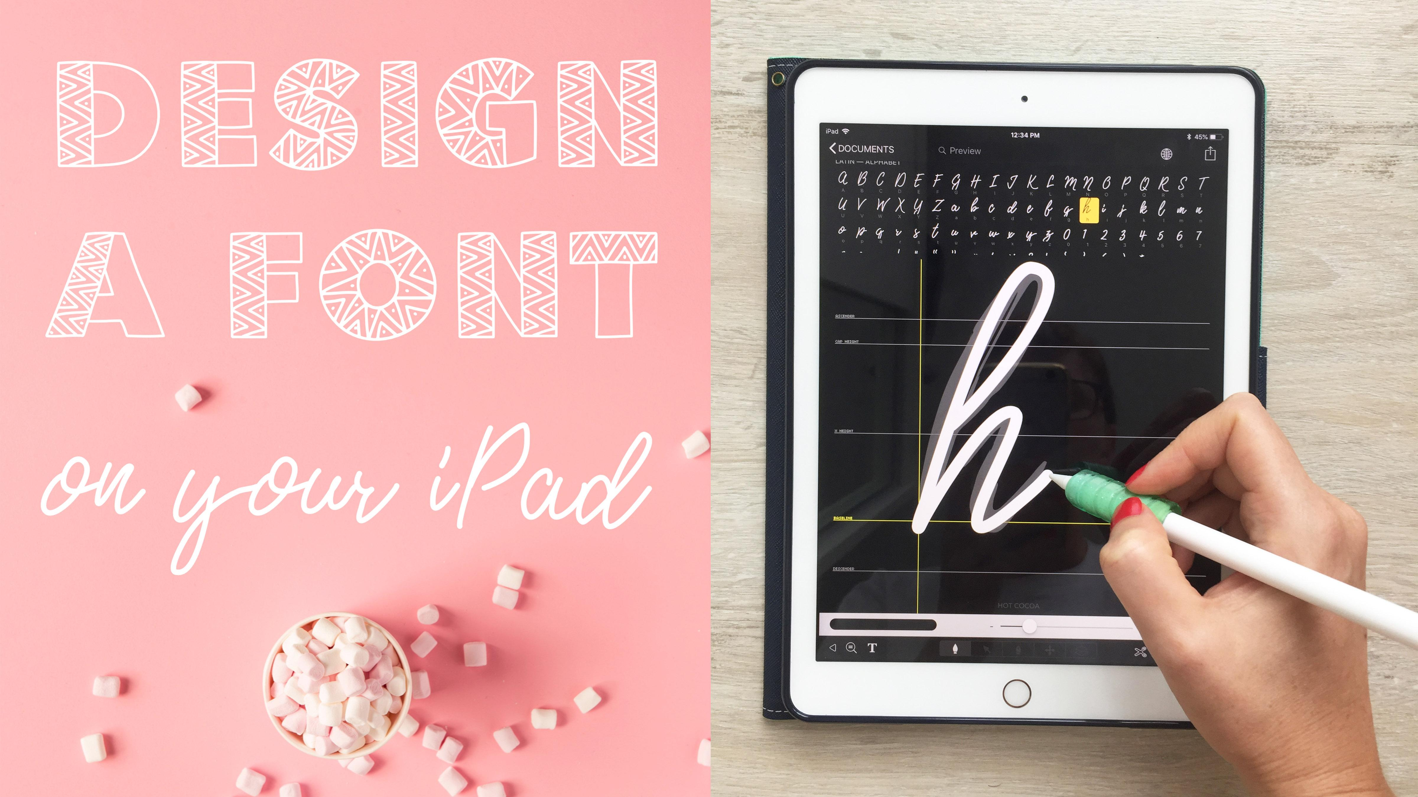 Create Fonts on Your iPad in iFont in a Few Easy Steps + 3