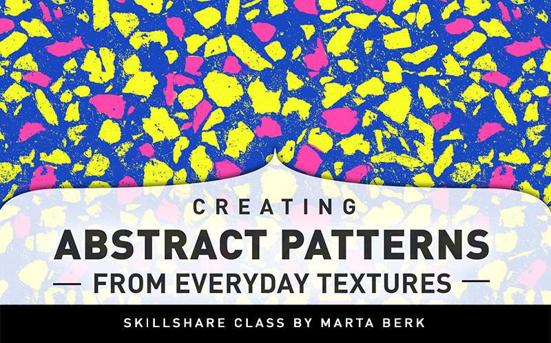 Creating Abstract Patterns from Everyday Textures | Marta Berk