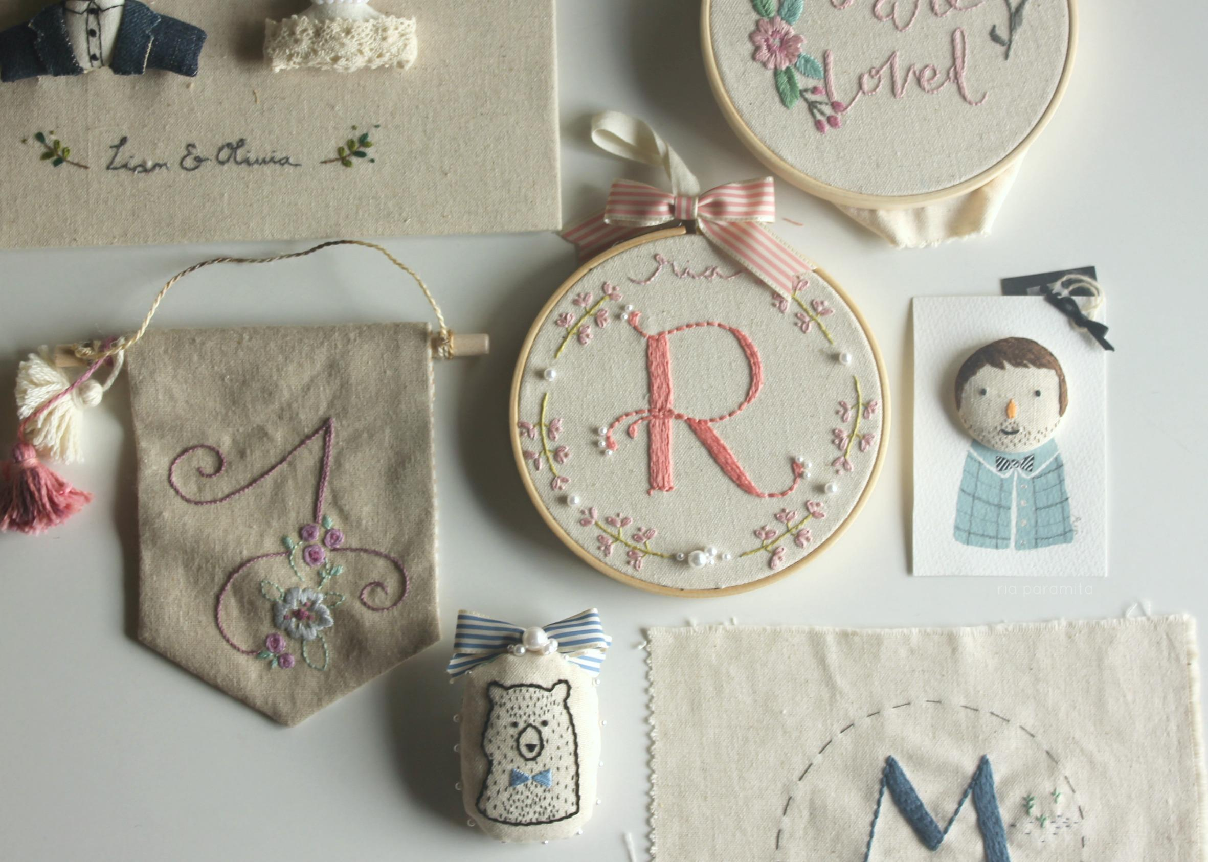 Embroidering Your Letters Introduction To Monogramming Ria