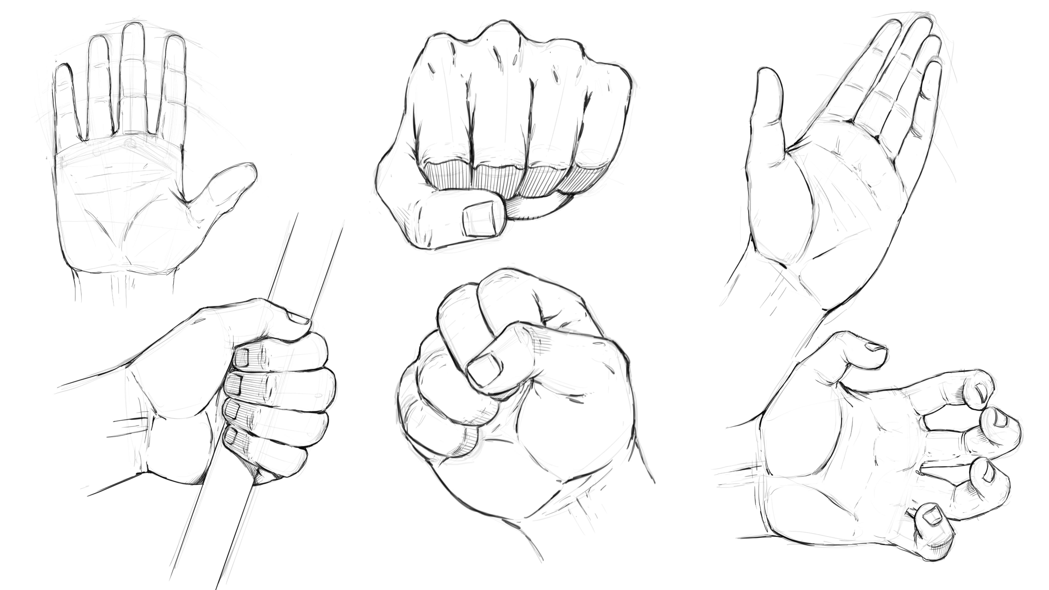 How to Draw a Hand advise
