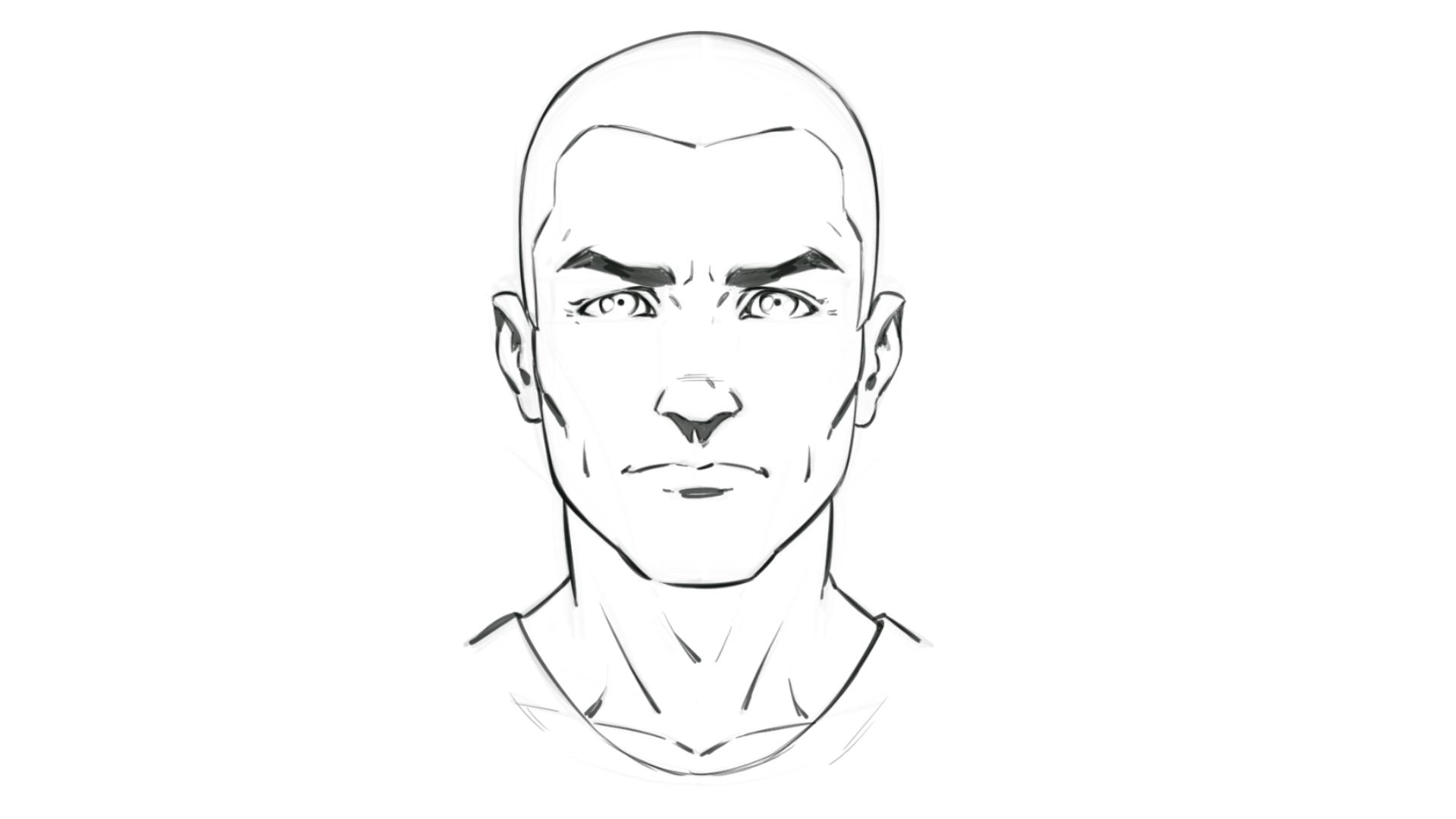 How To Draw Comic Style Hair For Male Characters Robert Marzullo