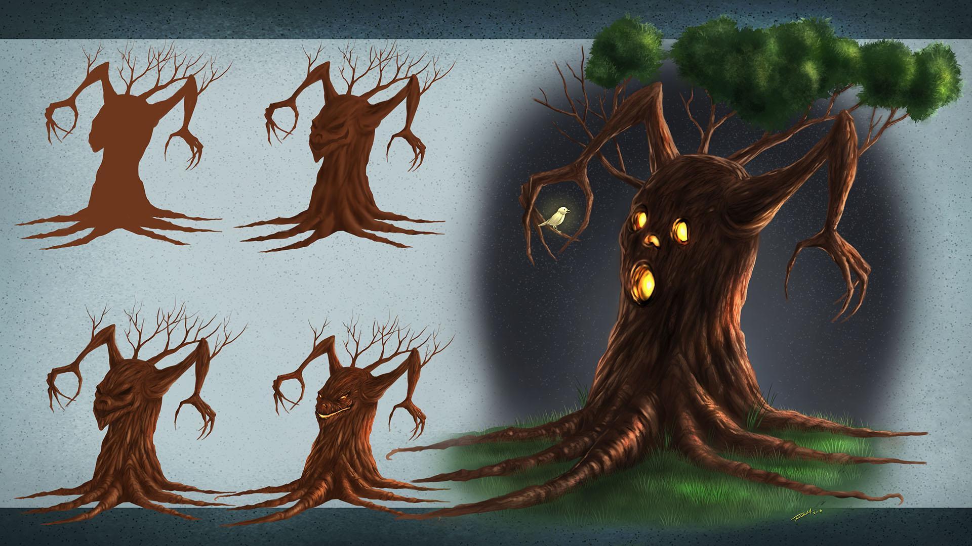 Digital Painting In Manga Studio 5 Fantasy Art Tree Robert