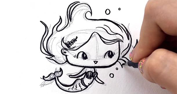 you can draw cute people the easy way yasmina creates skillshare