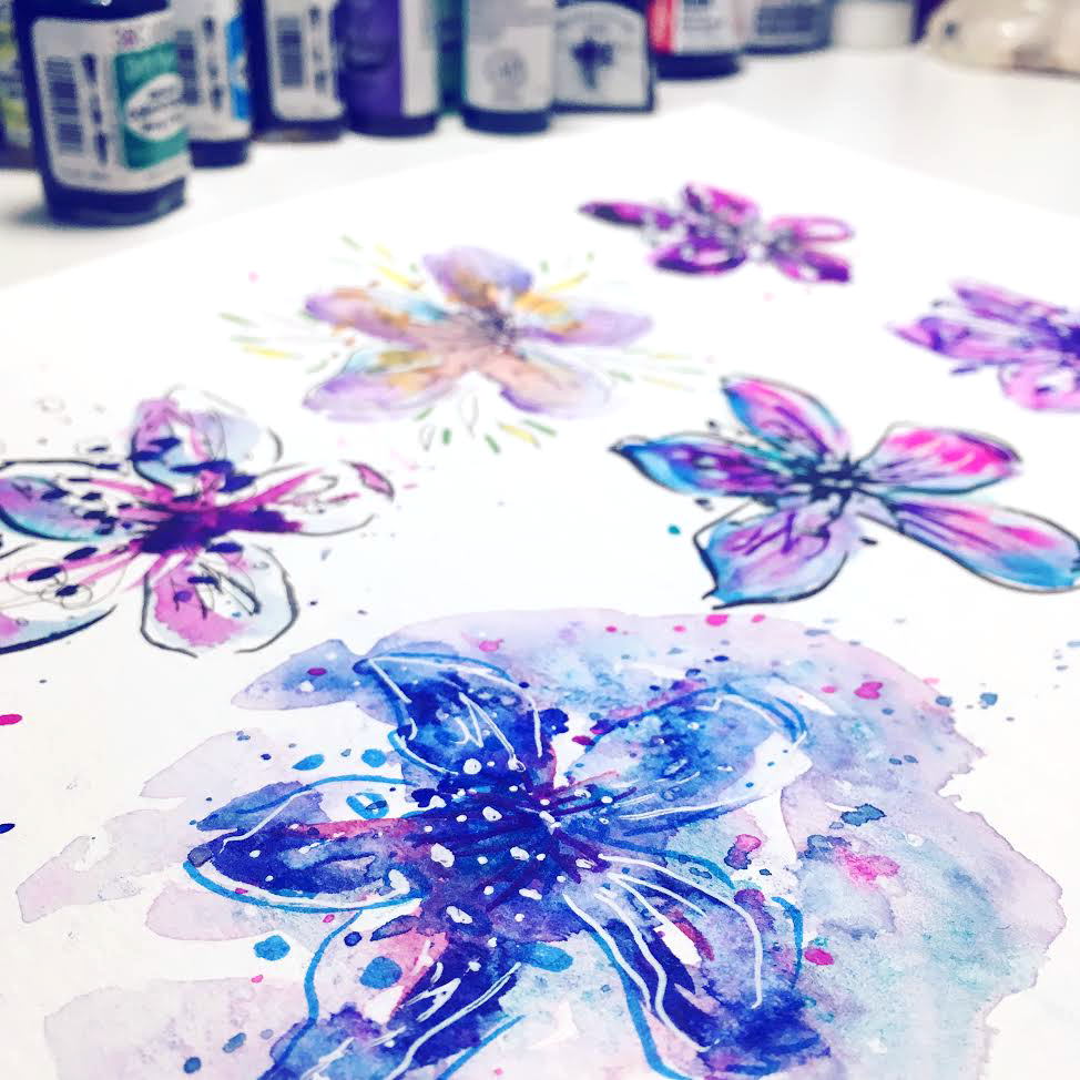 Ink & Watercolor Illustration: Learn Simple & Magical