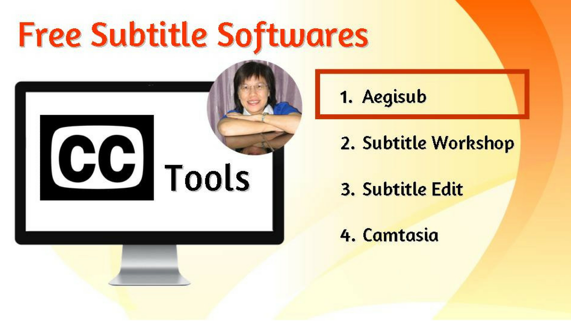 Closed Captions Training # 4: Free Subtitle Softwares to Create CC