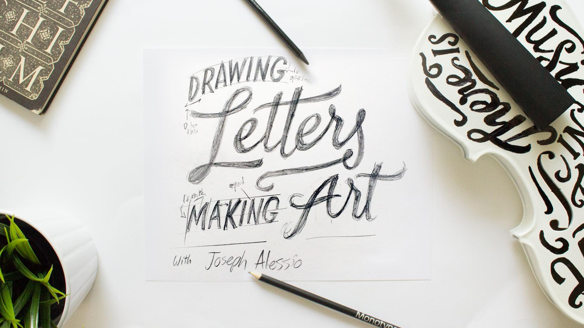 why should lettering one of the most versatile and exciting forms of communication be restricted to a sheet of paper explore the possibilities of