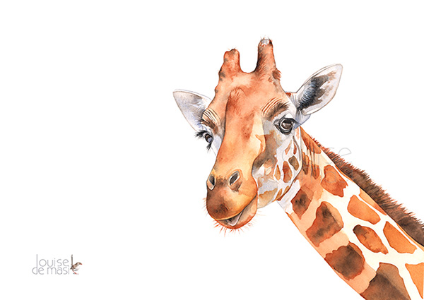 watercolor giraffe louise de masi skillshare paint palette clip art black and white paint palette clipart clear background