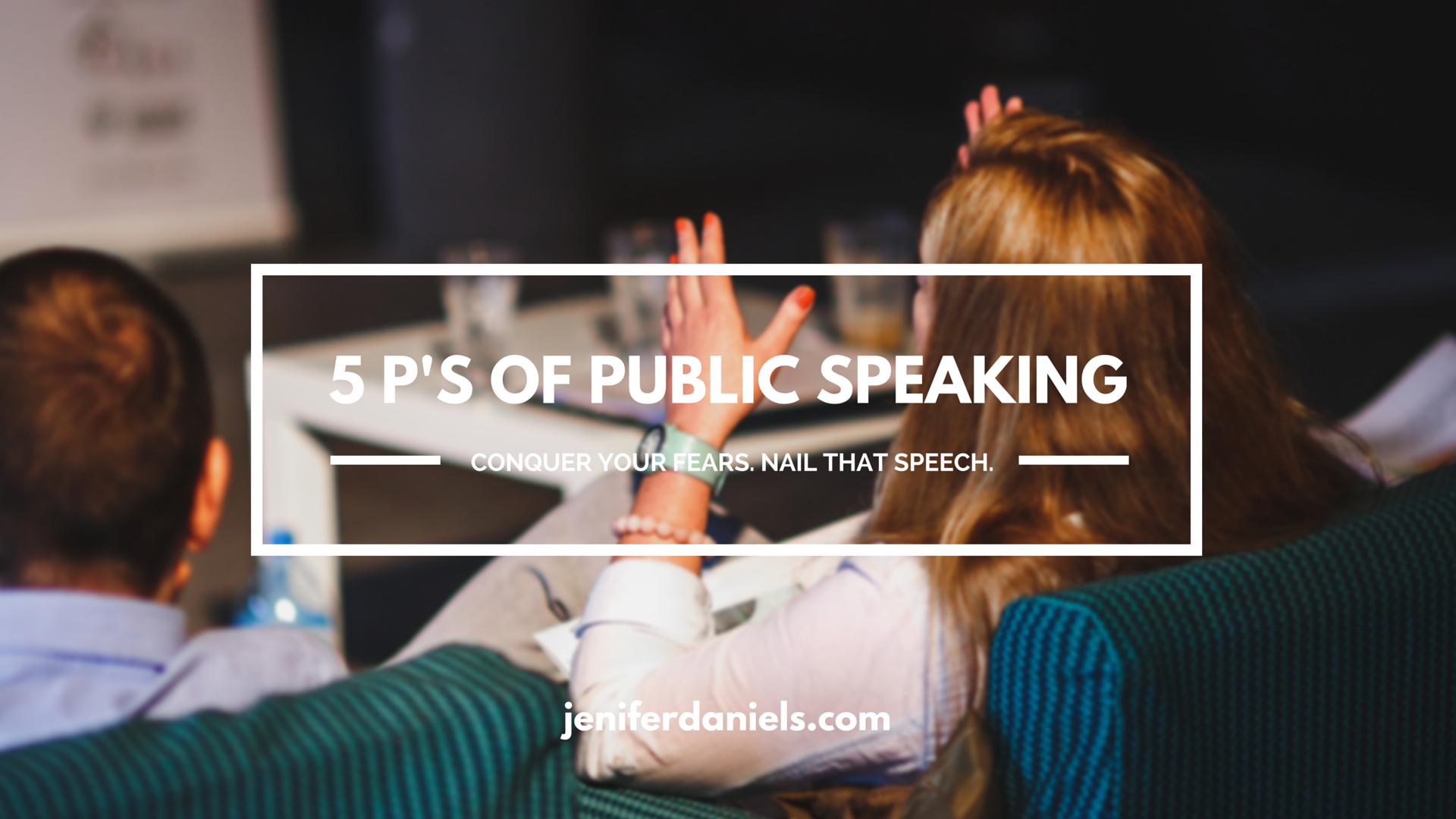 how to get over public speaking