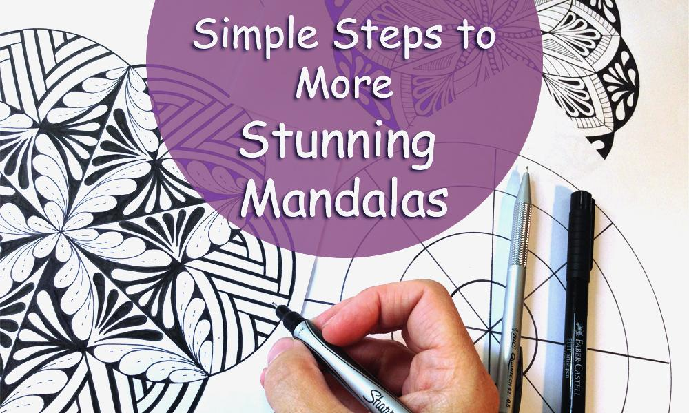 Simple Steps to More Stunning Mandalas | Jane Snedden Peever ...