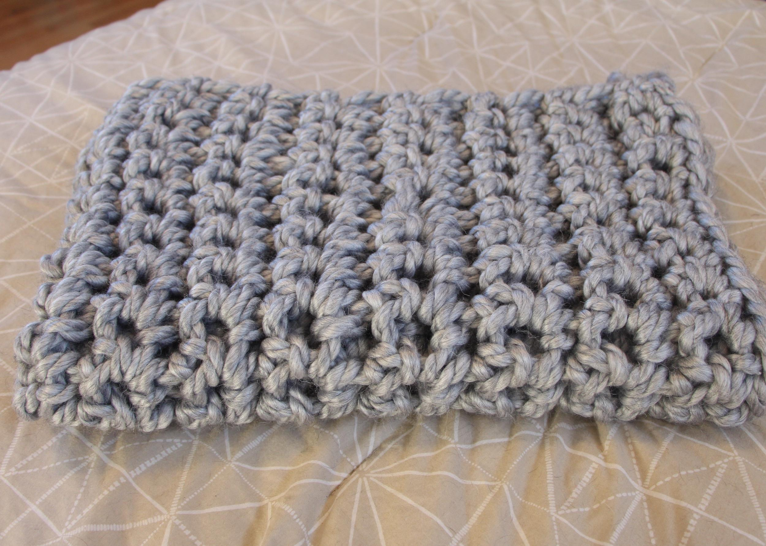 Hand Crochet A Blanket Without A Hook Cara Corey Skillshare