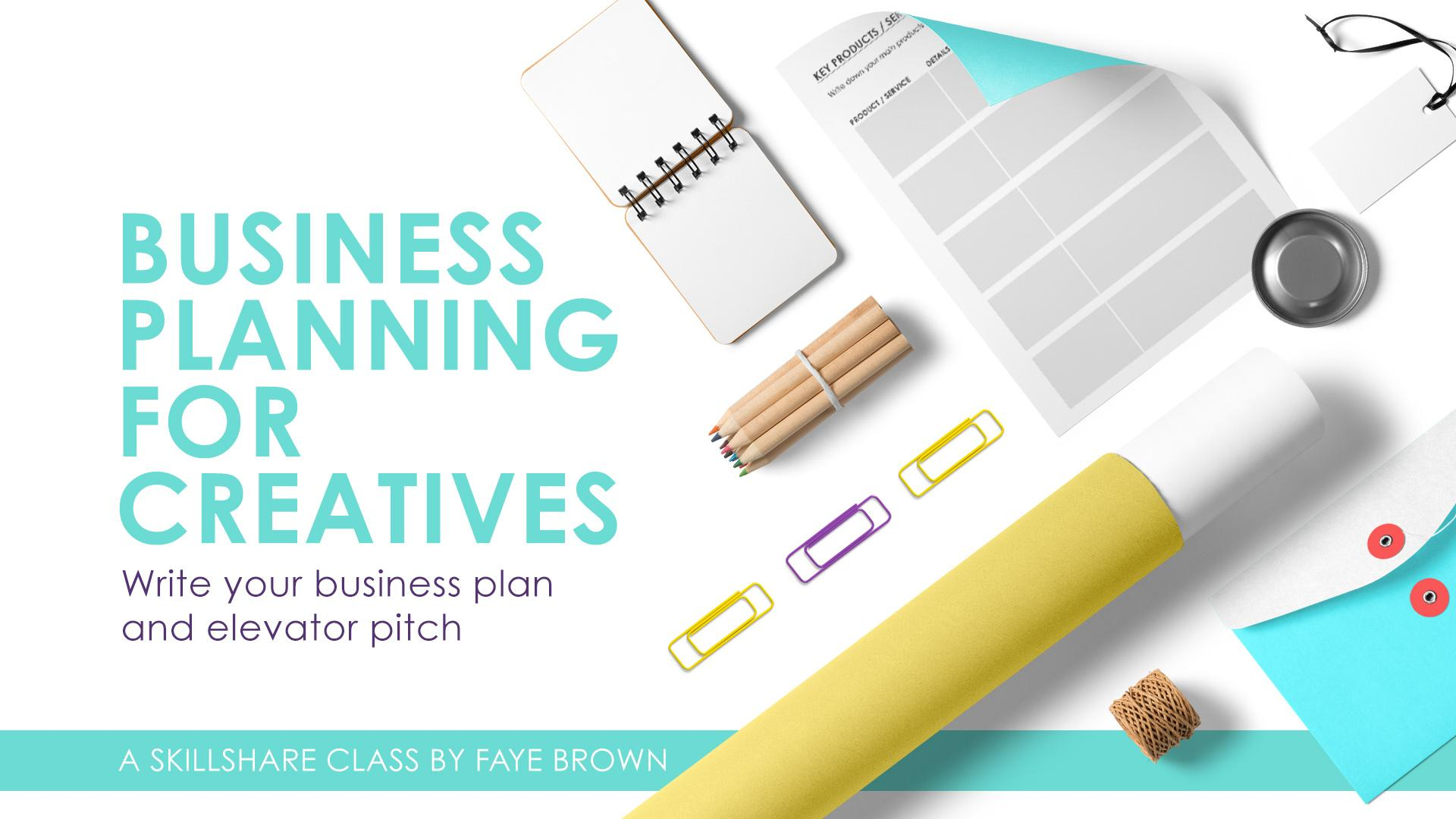 Business Planning For Creatives Write Your Business Plan