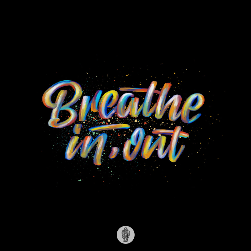 lettering very colorful with the ipad pro and the procreate app vol2