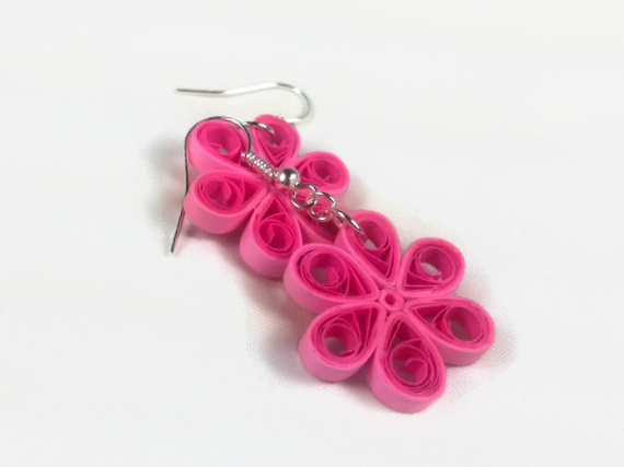Paper craft quilled flower earrings marissa agnew skillshare paper quilling is also known as paper filigree it involves curling twirling pinching and manipulating strips of paper into intricate shapes and designs mightylinksfo