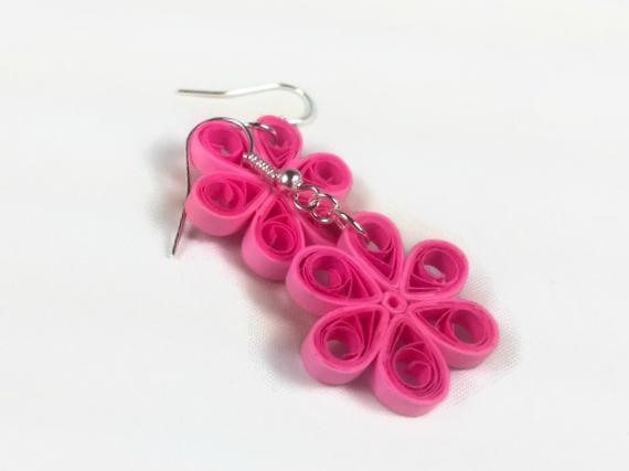 Paper Craft Quilled Flower Earrings Marissa Agnew Skillshare