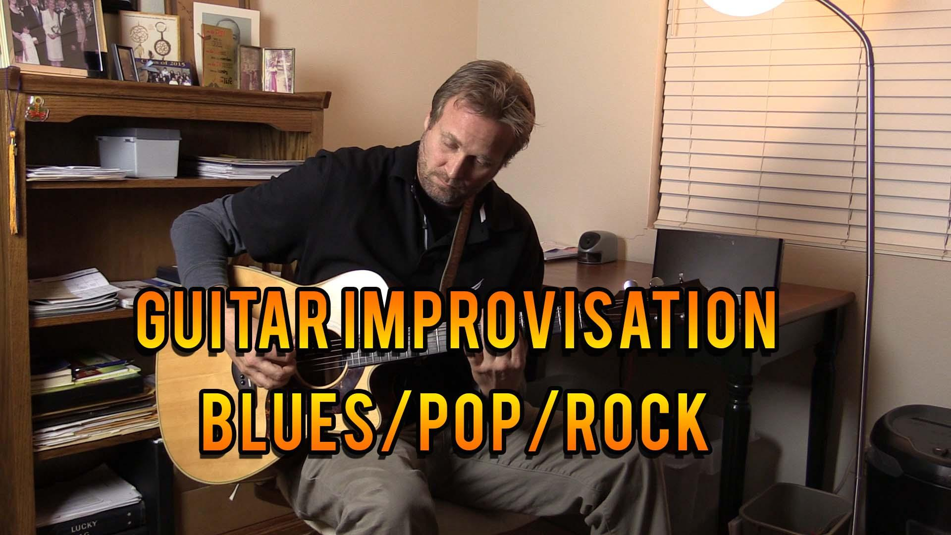 Guitar Improvisation and Soloing: Get started with simple