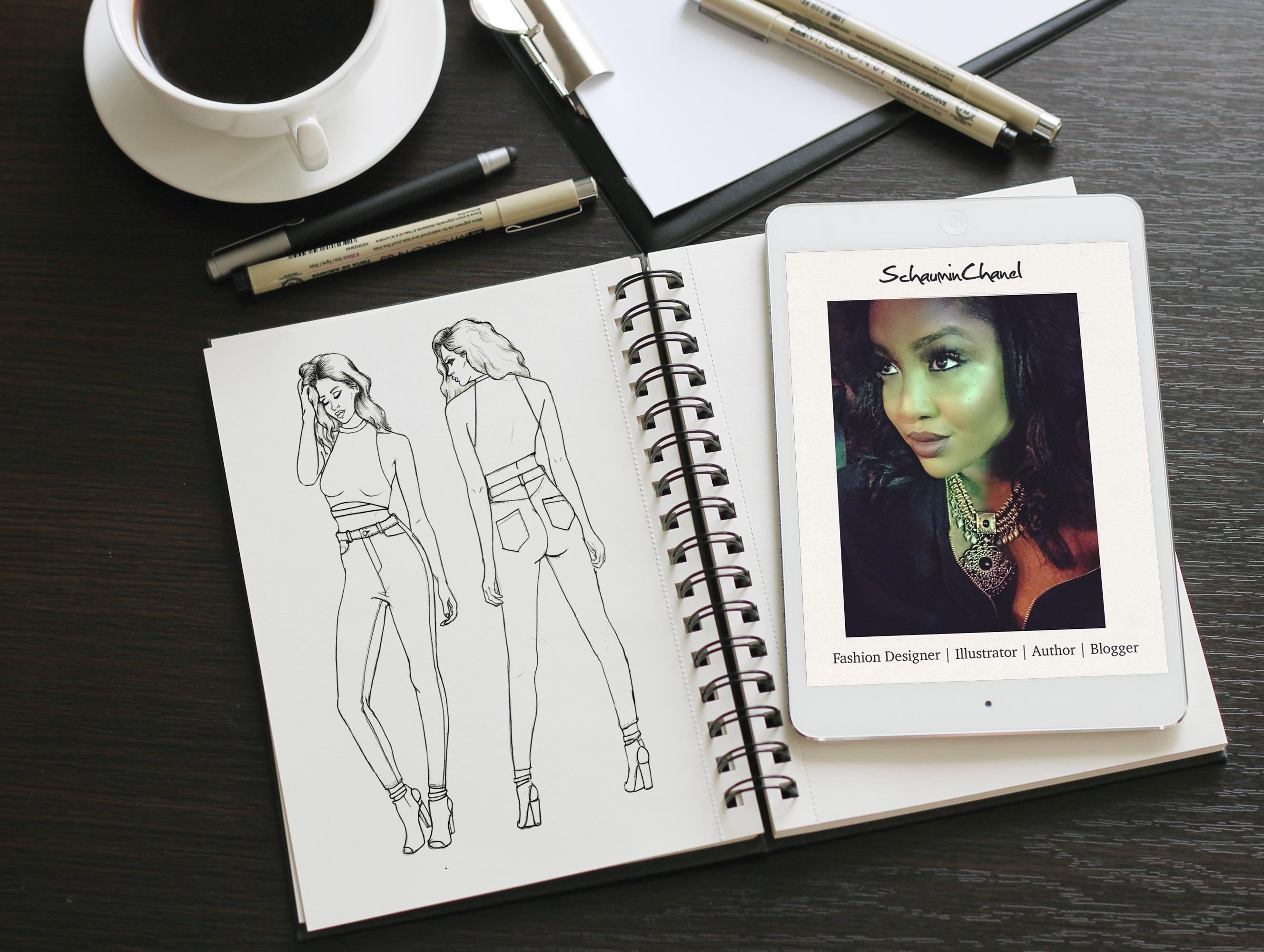 Photoshop For Fashion Transform Your Hand Drawn Fashion Sketch In Minutes Schauminchanel Alexander Skillshare
