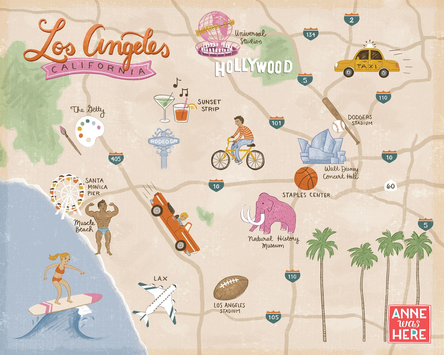 Shortcuts to Map Making for Illustrators: Illustrate Your Favorite on
