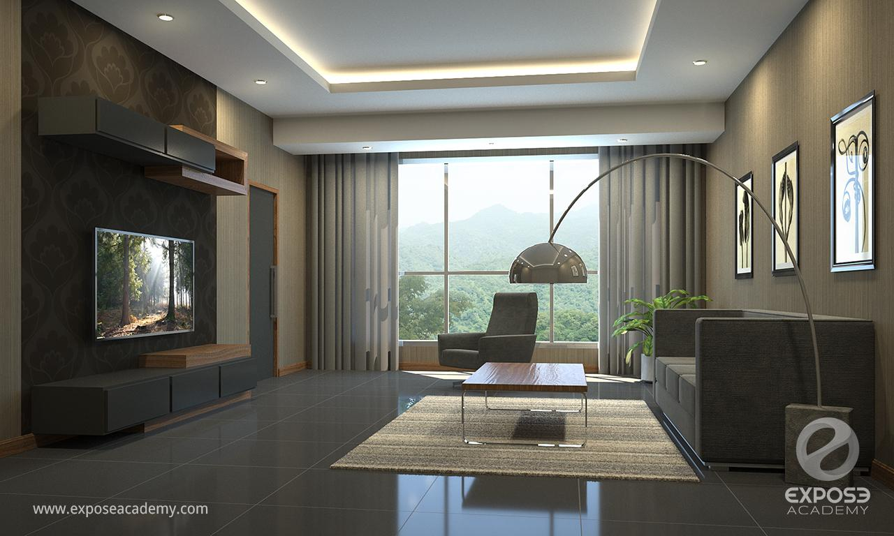 Interior rendering with 3DS MAX and Corona | Widhi Muttaqien