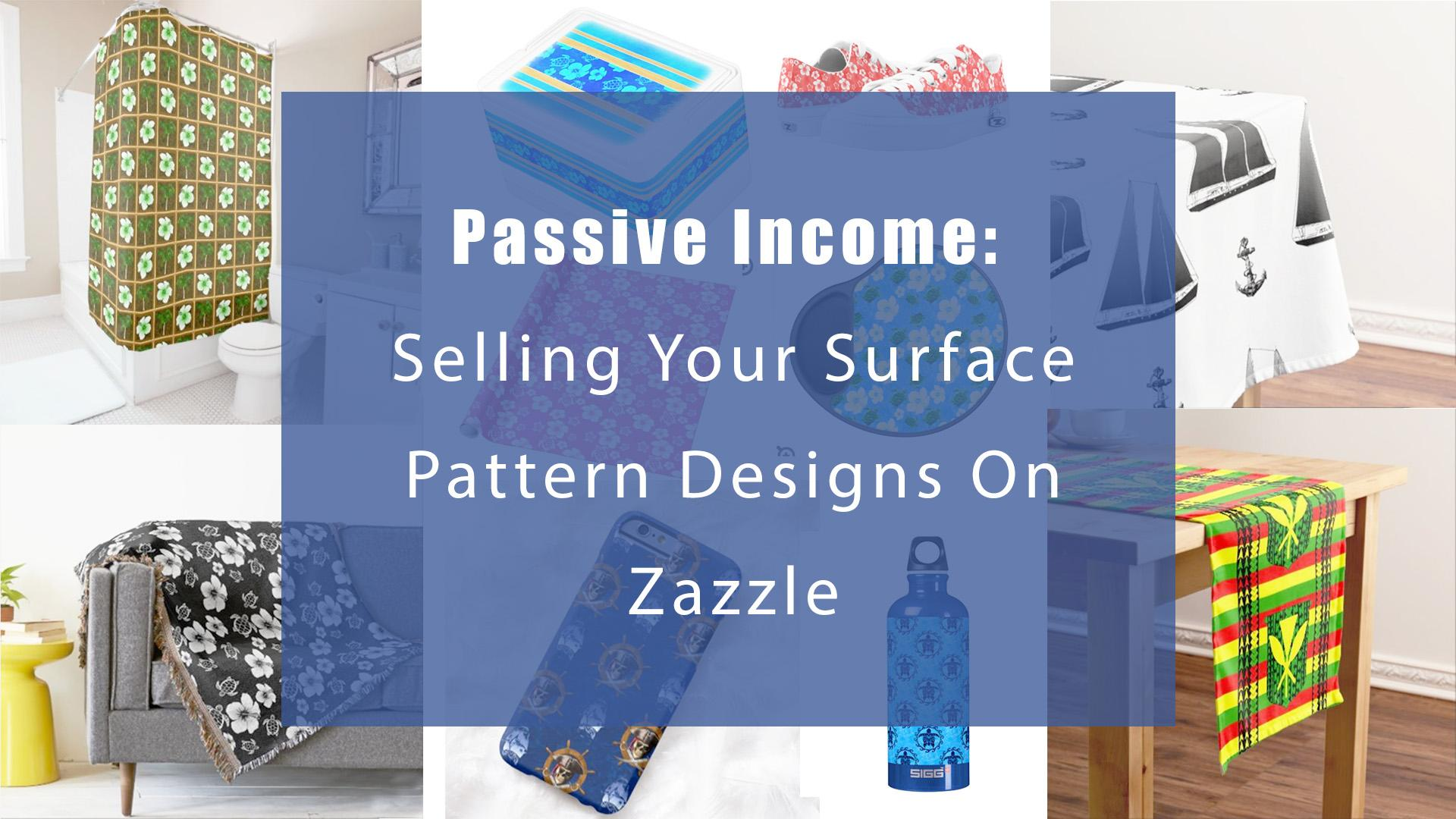 Welcome Surface Pattern Designers U0026 Visual Artists! Learn How To Make  Passive Income By Selling Your Art Without Your Own Website, Agent, Or  Licensing ...