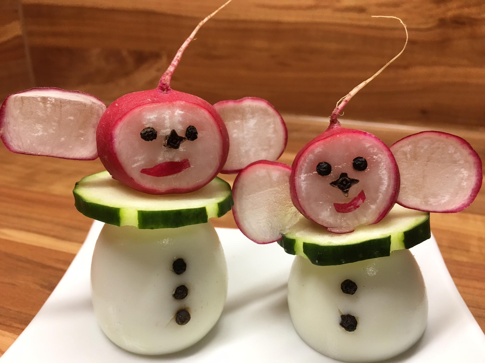 Lustiges Weihnachtsessen.Lustige Wichtel Gesunde Food Deko Nicht Nur Zum Weihnachtsessen