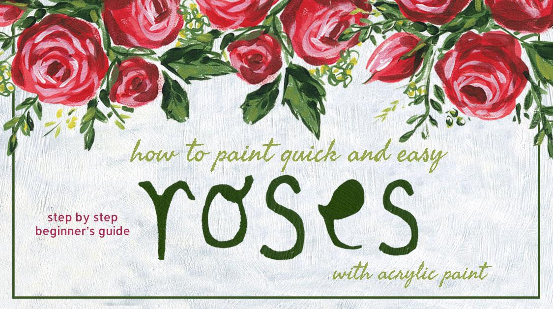 Join artist Bonnie Lecat as she takes you through some acrylic painting basics and brushwork by demonstrating how to paint some decorative roses, leaves, ...