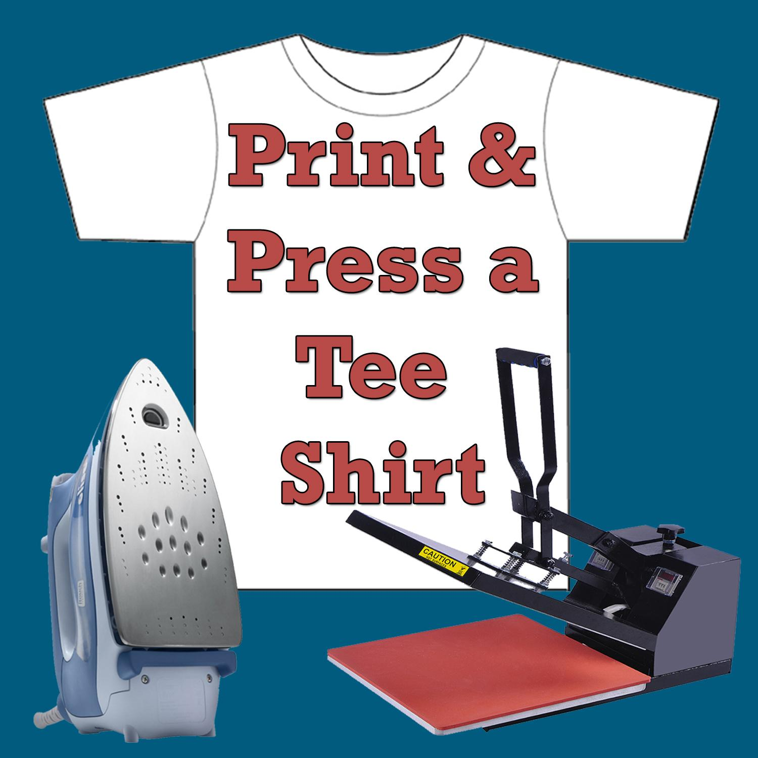 t shirt making print press your own t shirt at home