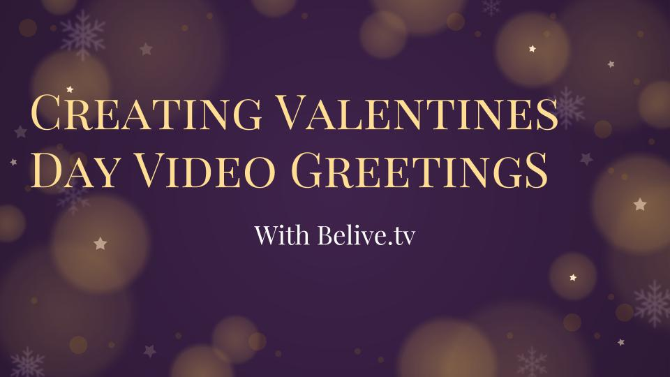Create christmas and valentines day live video greetings using are you searching for a novel way to send seasons greetings to friends and family m4hsunfo